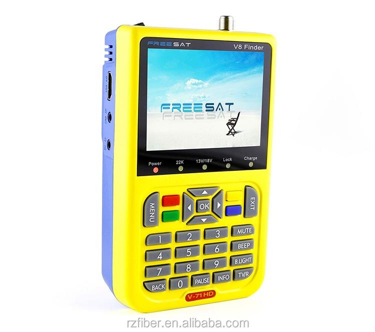 Hd Dvb-s Satellite Signal Finder Meter Usb Software Update Dc 12v Satellite  Dish Signal Finder Meter - Buy Dvb-s Satellite Signal Finder Meter,Usb