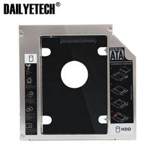 9.5mm Universale <span class=keywords><strong>SATA</strong></span> 2nd HDD Caddy Hard Disk SSD + Pannello per DVD-ROM Bay Ottico