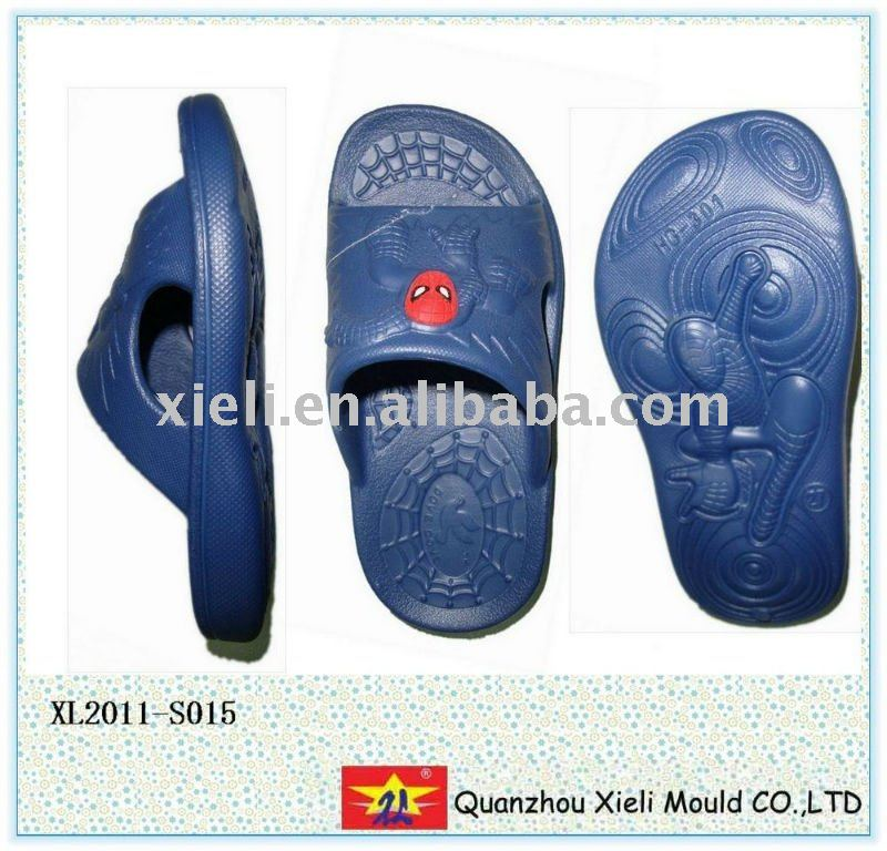2011 new style EVA/PVC blowing injection slipper mould