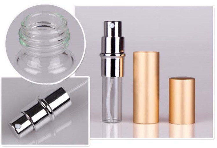 5ml Perfume bottle aluminium packaging