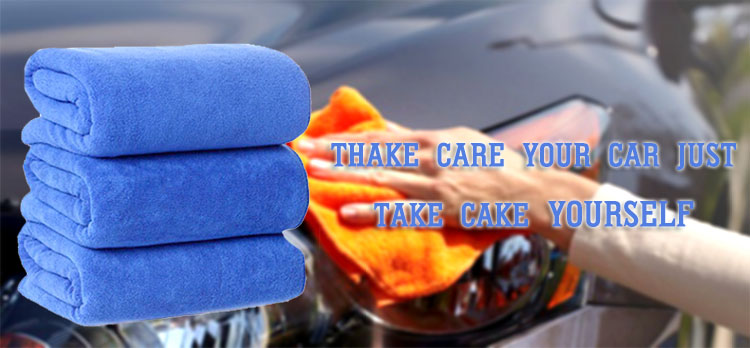 high water absorbent soft car drying microfiber towel for carwash