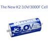 Maxwell DuraBlue super capacitor 3V 3000F solar power system home automotive battery cases 3000 farad super capacitor
