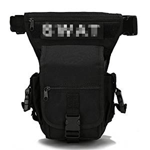 Outdoor Tactical Leg Bag Wiast Bag Pack Tactics Multi-Purpose Bag Hadsfree Hiking Cycling Fishing Utility Thigh Tactical Bag