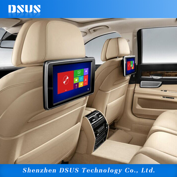 10.1 Inch Car Back Seat Tv For Car Headrest Dvd Player With One Year ...