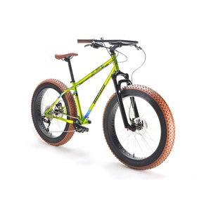 "New design OEM ODM high quality CR-MO frame 26""*4.0"" colored wheel snow bike fatbike fat tyre bicycle for men"