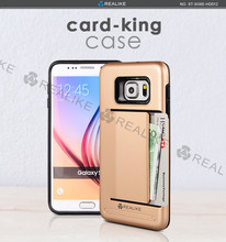 new trending 2 in 1 mobile phone combo case with card holder,for Samsung Galaxy S8 case