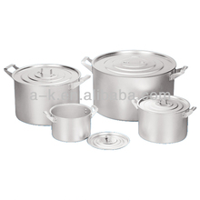 2014 China Aluminum indian cooking pots for camping