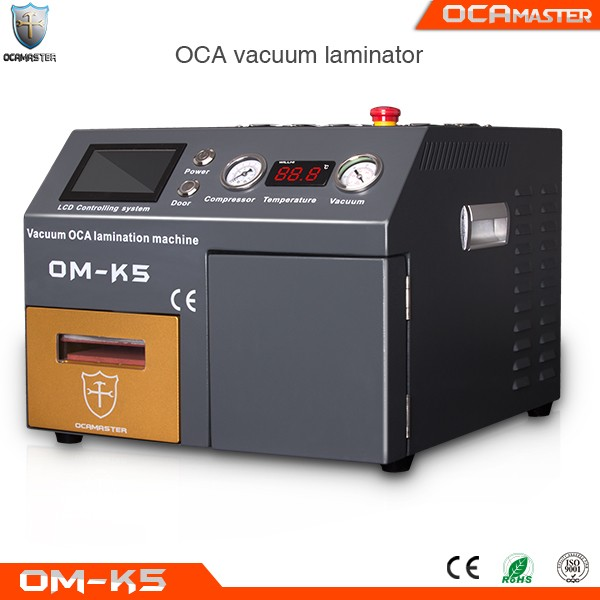 The newest OCAmaster OM-K5 vacuum oca lamination machine phone lcd refurbishing machine