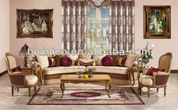 Phenomenal Arabia Royal Style Living Room Corner Sofa Chesterfield Fabric Corner Sofa Luxury Leisure Chair Craving Wood Coffee Table Buy Sofa Fabric Velour Creativecarmelina Interior Chair Design Creativecarmelinacom