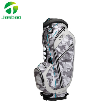 Custom Golf Bags With Navy Pattern