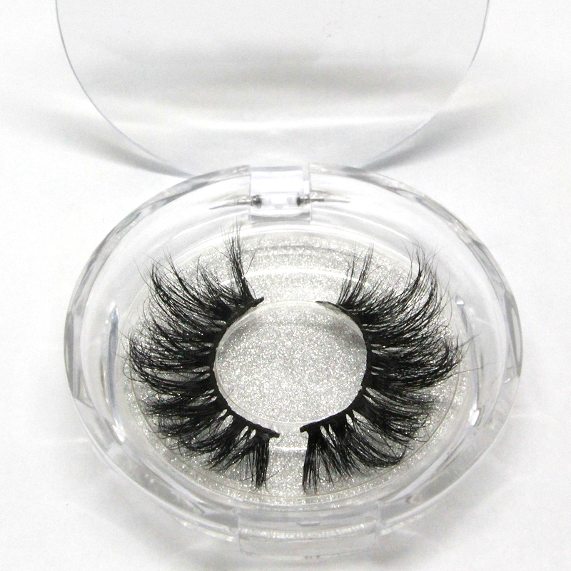 Private Label 5D 27mm Eyelashes Custom Fluffy 25mm 3D Mink Eyelash and Boxes