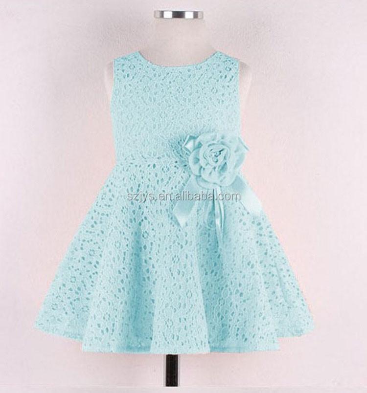 5ccba935e Summer Girl Dresses Kids Lace Dress Decoration Flowers - Buy Kids ...