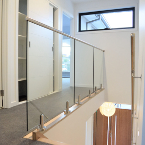 Stainless Steel Railing Systems With Glass Panel