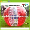 outdoor adult bumper ball tpu inflatable human soccer bubble ball