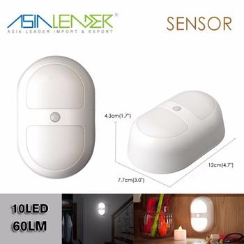 Pour Salles De Bains Couloir Buanderie Chemin Placards Enfants Chambre Bb Blanc LED Motion Sensor