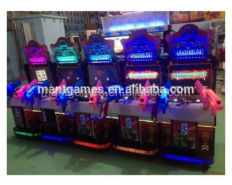 Mantong game type kids paradise lost shooting gun video game machine for entertainment park