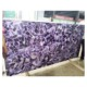 purple fluorite fake marble with natural gemstone