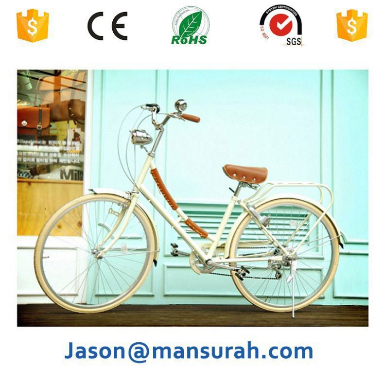 Hot sale comfort city bike with good quality and OEM design internal 3 speed