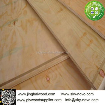 1220*2440*18mm Pine Plywood For Furniture/cabinet Grade Pine ...