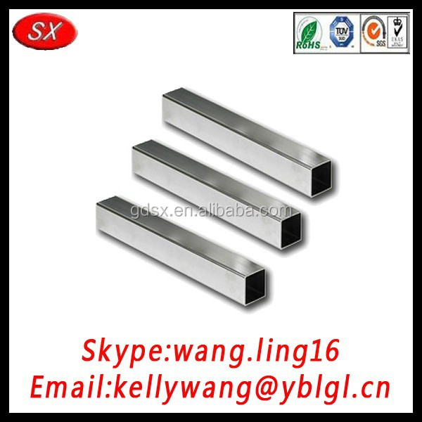 OEM high quality stainless steel pipe for door,window,handrail, pipe machining is welcome