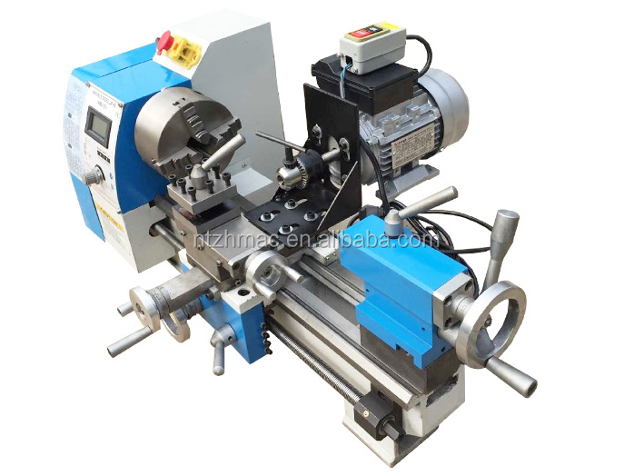 The Metal Bench Lathe WM210V for metal cutting saw