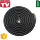 World best selling products best price Double Layer Latex Core Adjustable Bright Color coiled garden hose