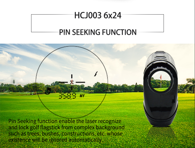 6X Grossissement Portable recherche de broche 900Y golf télémètre de Golf club