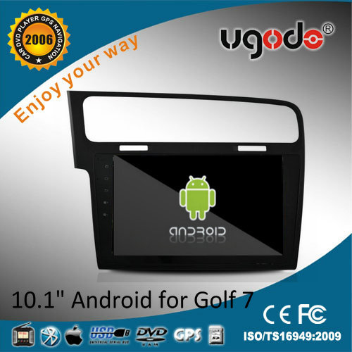 China made Android 10.1'' HD touch screen car auto radio for vw golf mk7 left hand drive