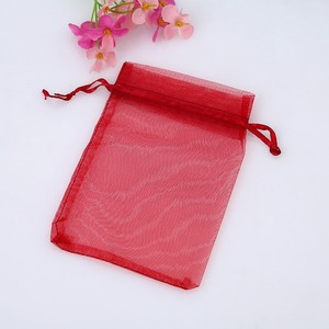 100 Pcs 5 X 7 Inches Mixed Color Jewelry Gift Organza Bag Candy bag Wedding Favors bag