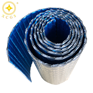 Recycled adiabator heat resistant bubble with aluminum foil heat insulation material