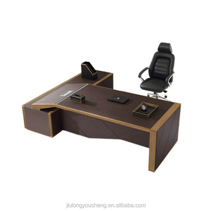 luxury wood executive desk table W05 office table executive ceo tall office desks