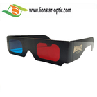 March Promotional 10% Off , Wholesale Colorful Paper 3D Red Cyan Glasses Cinema 3D Glasses Anaglyph Movies Glasses