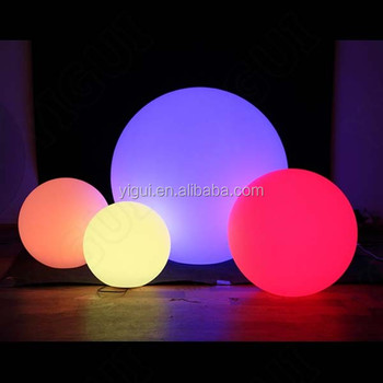 light up led ball outdoor christmas decoration
