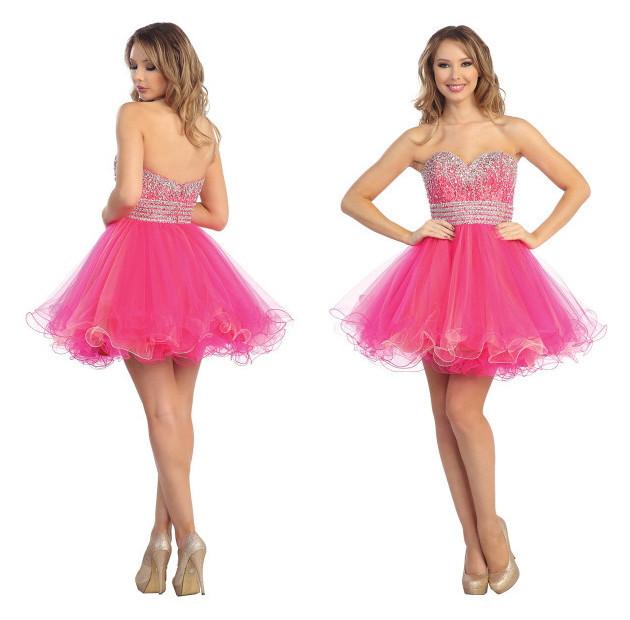 Vestidos de Formatura Curtos e Longos - Coleo 2017