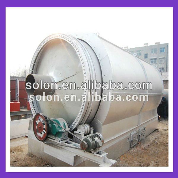 Automatic Waste Tyre Pyrolysis Fuel Oil Plant