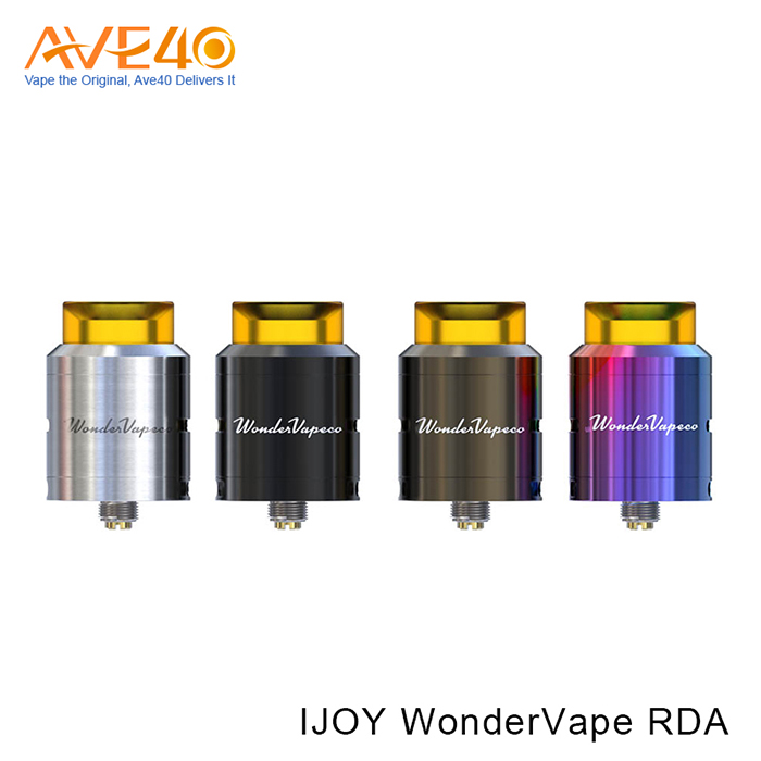 2017 Hottest Product IJOY Wandervape RDA with Botton Ariflow in Stock Wholesale