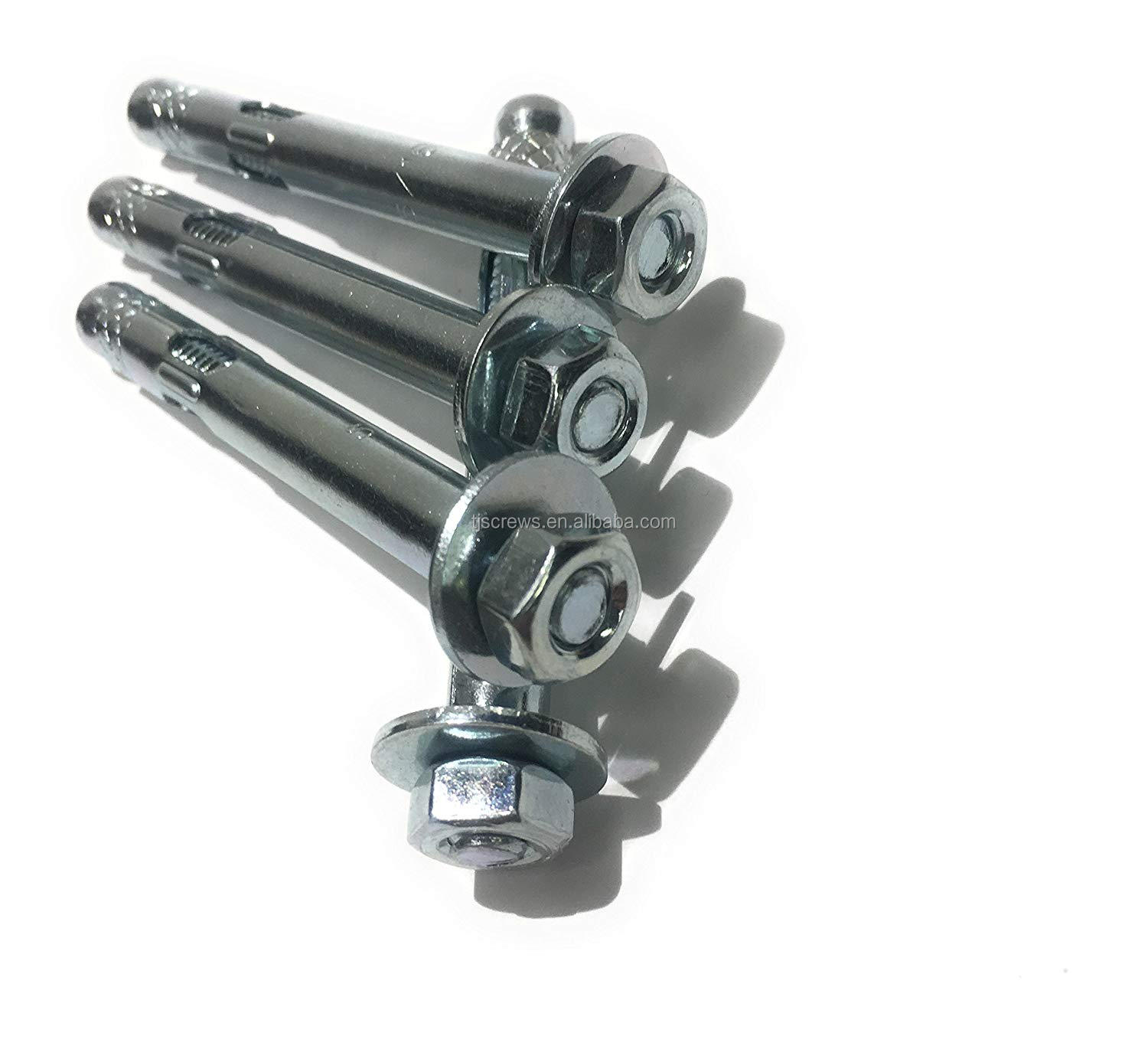 Heavy Duty Anchor Bolt Wedge ผ่าน Bolt