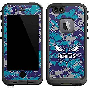 NBA Charlotte Hornets LifeProof fre iPhone 6/6s Skin - Charlotte Hornets Digi Camo Vinyl Decal Skin For Your fre iPhone 6/6s