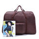 Wholesale custom foldable polyester travel duffel bag folding in pouch