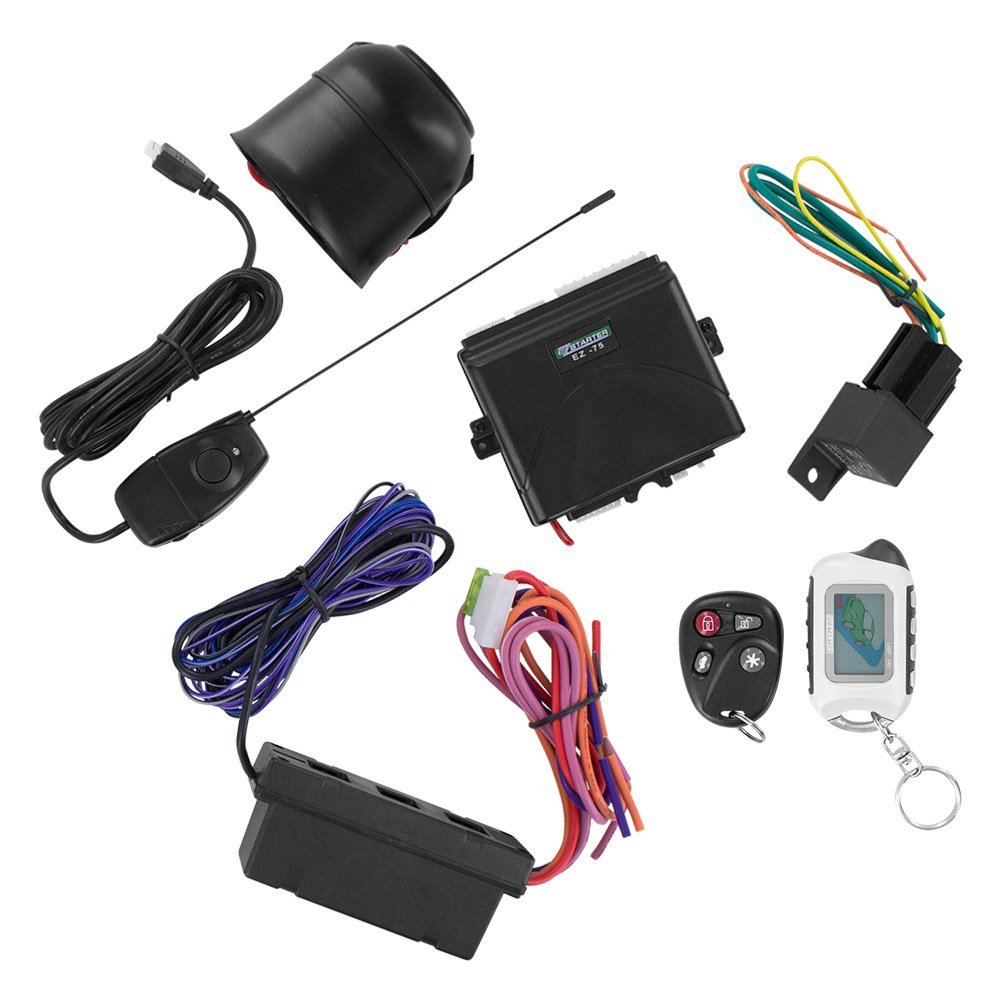 Get Quotations · EZ-Starter EZ75 2-Way LCD Remote Start and Security System