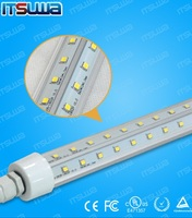 ip 67 led tube waterproof ce rohs freezer cooler waterproof led tube dimmable chicken farm lighting