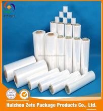 Over 10 Years Factory Machine Wrap LLDPE Casting Stretch Film jumbo roll shink wrap film For Packing
