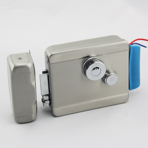 D88a S Gate Door Stainless Steel Electric Rim Lock