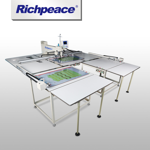 Precise Stitch Richpeace Industrial Single Head  Sewing Machine With Auto-loader