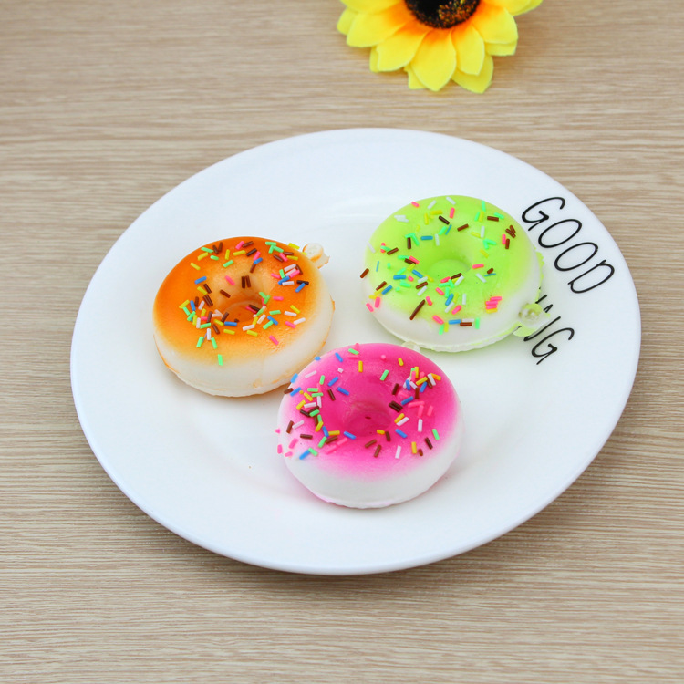 China Factory High Quality Soft Slow Rising Scented Stress Toys Mini Squishy Donut
