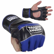 thumb protection UFC kicking training grappling custom MMA gloves