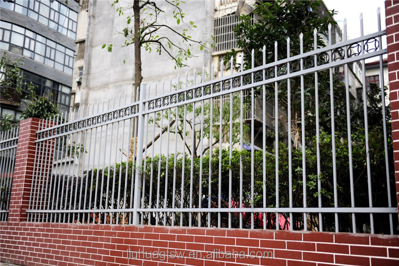 Beautiful designs ornamental steel fence as a protective