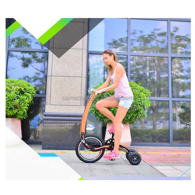 Fácil plegable bicicleta de tres ruedas triciclo eléctrico, barato ...
