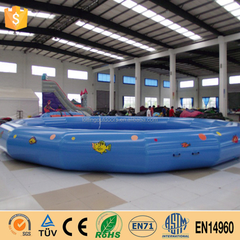 Durable large inflatable plasticswimming pool buy large for Large size inflatable swimming pool