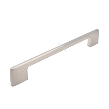 Satin Nickel Slim Kitchen Cabinet Door Handles Hardware Pulls Buy
